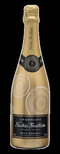 Nicolas Feuillatte Brut Réserve Gold Label  - 750ml