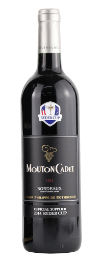 "Rothschild - Mouton Cadet ""Ryder Cup"" Bordeaux  - 750ml"