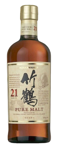 Nikka Taketsuru  Pure Malt 21 Years Old  - 700ml