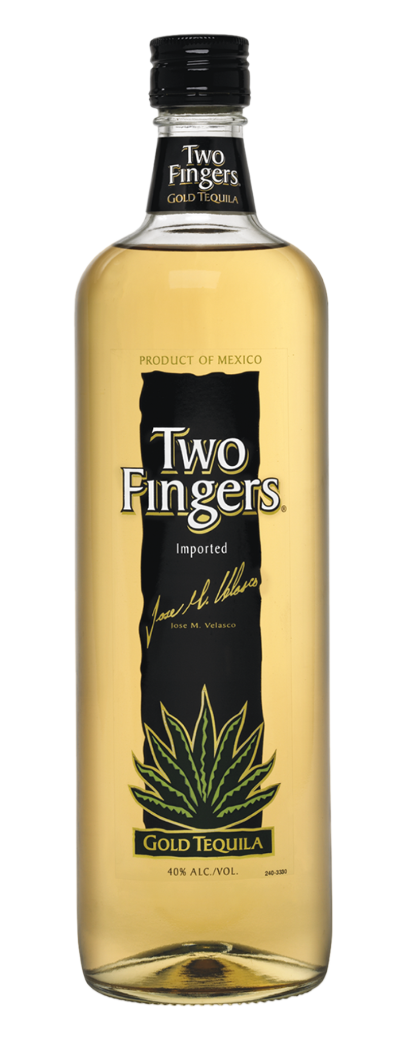 Tequila Two Fingers Gold  - 750ml