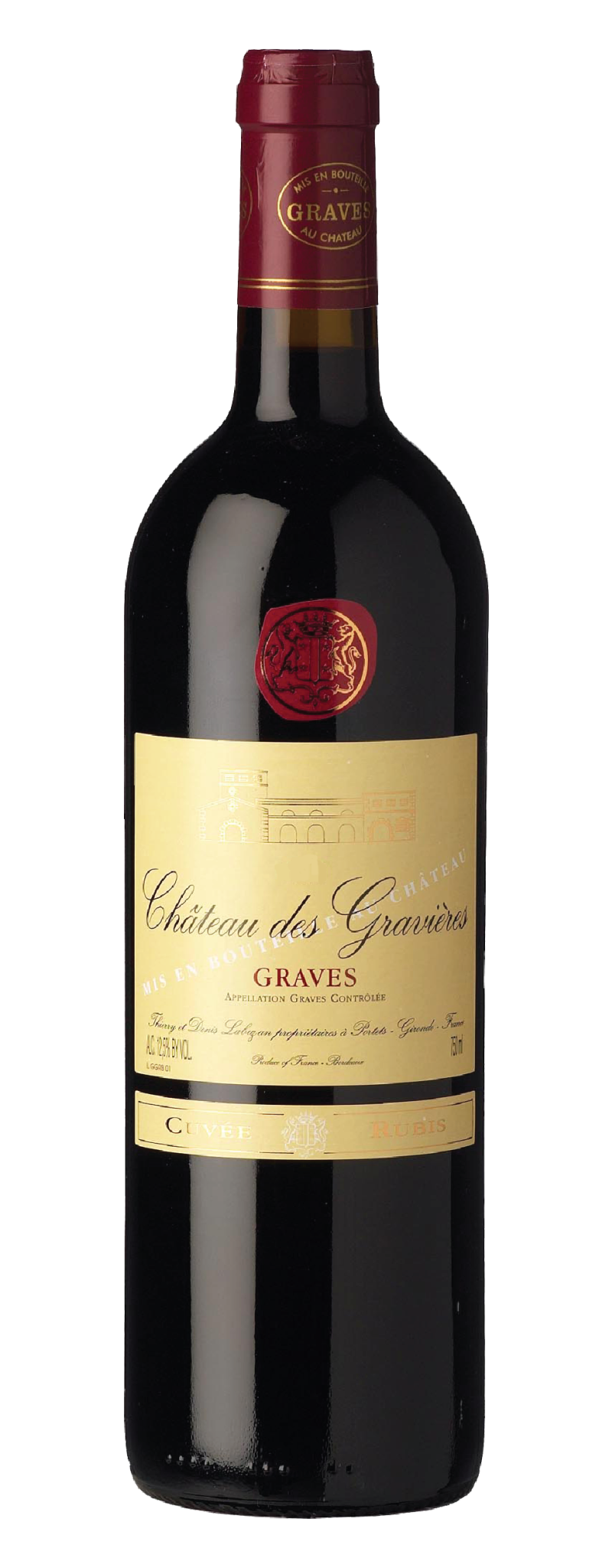 Chateau La Gravieres Graves 2015  - 750ml
