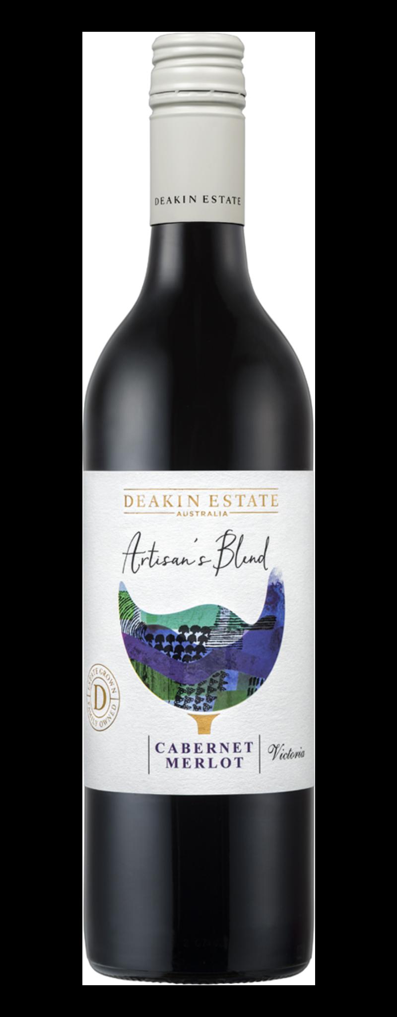 Deakin estate artisan's blend cabernet merlot  - 750ml
