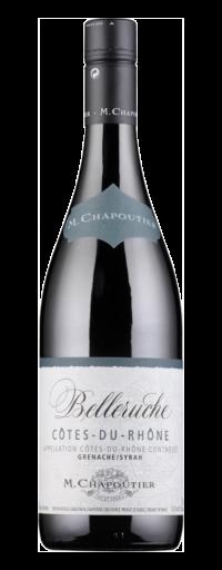 M.Chapoutier Belleruche red Cote du Rhone  - 750ml