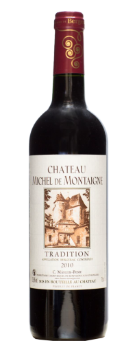 Chateau Michel de Montaigne Tradition, Bergerac 2010  - 750ml