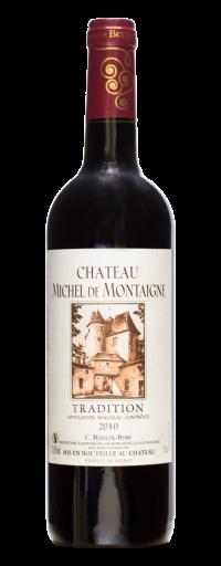 Chateau Michel de Montaigne Tradition, Bergerac 2010  - 750ml