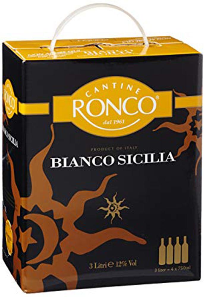 Ronco Sicilia Bianco BIB Sicilia  - 3L