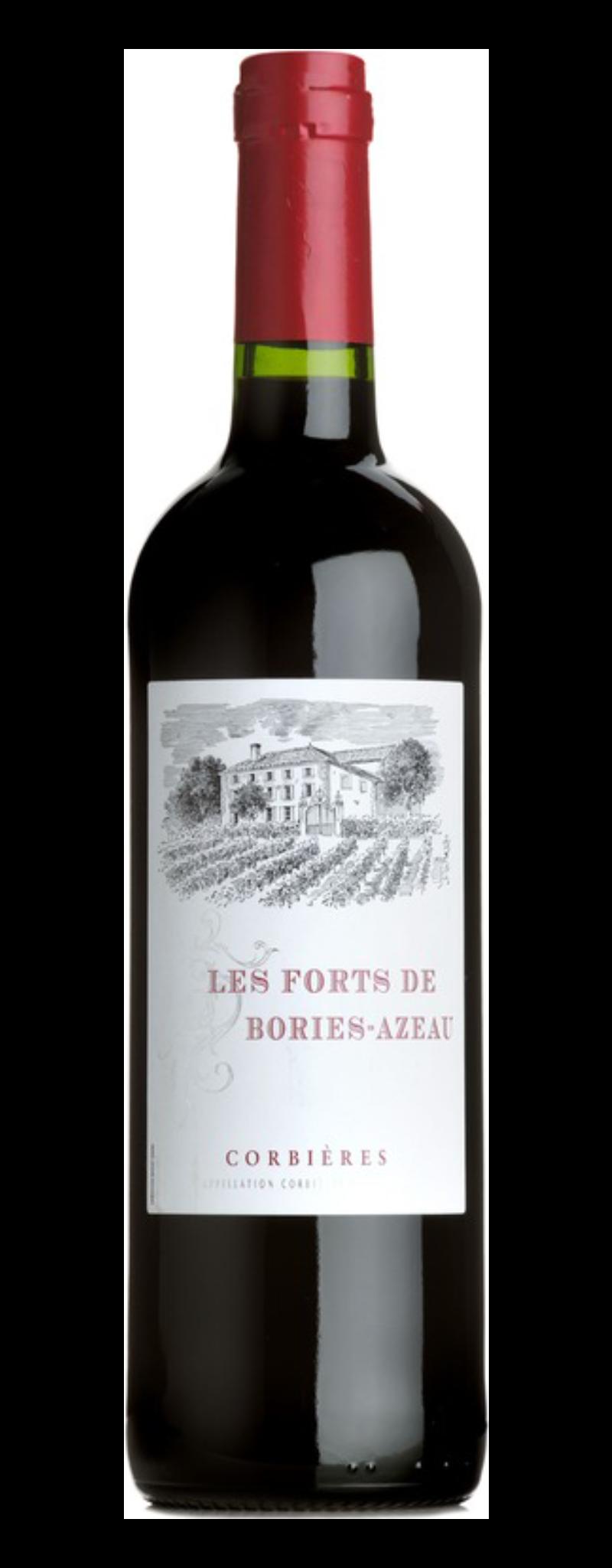 Les Forts Bories Azeau, Corbieres  - 750ml