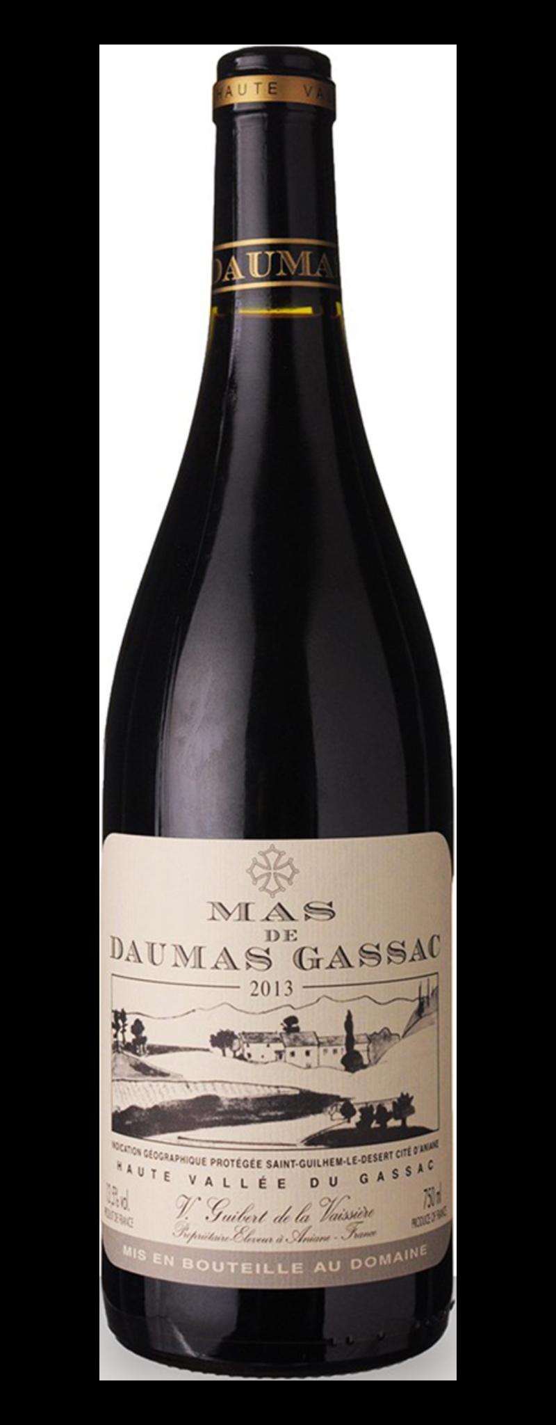 Mas de Daumas Gassac, IGP Saint-Guilhem-le-desert  cite d'Aniane  - 750ml