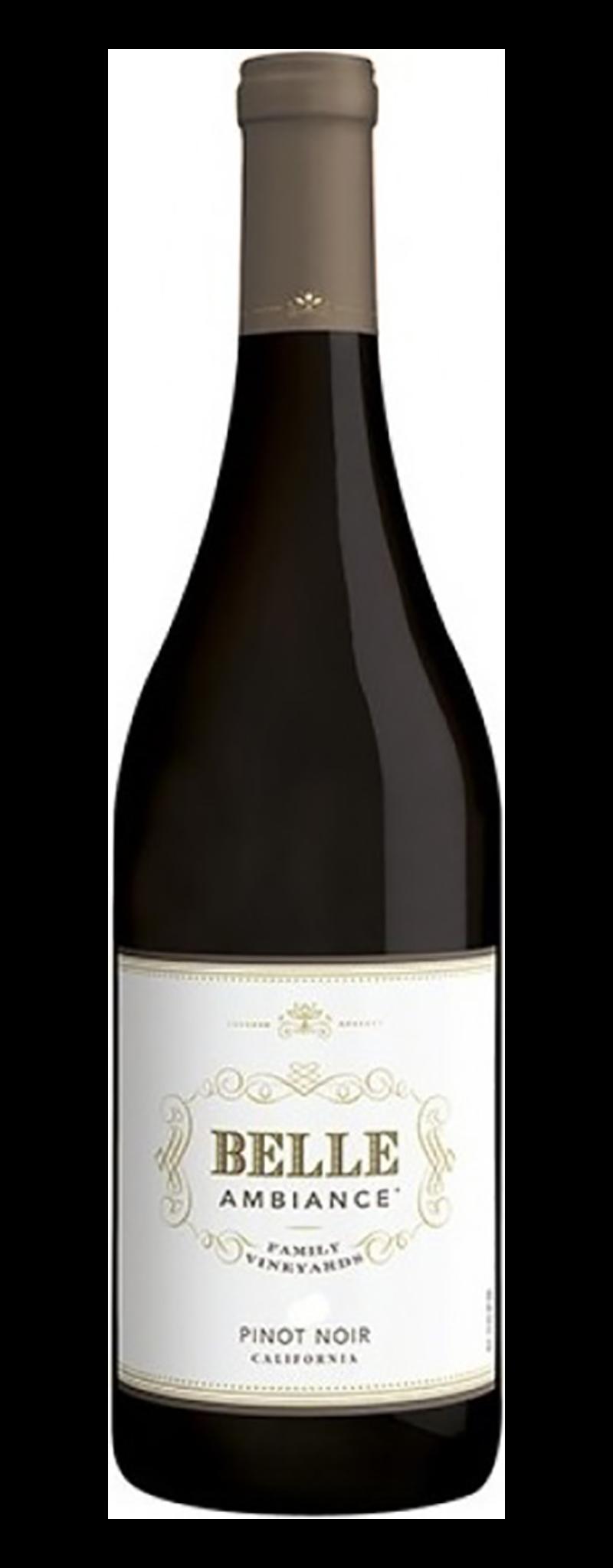 Belle Ambiance Pinot Noir, California  - 750ml