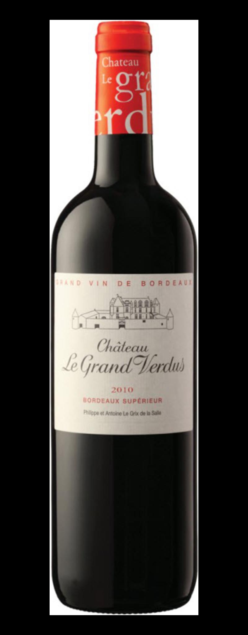Chateau Le Grand Verdus, Bordeaux Superior, Magnum 1.5l  - 750ml