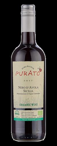 """Purato, Nero d'Avola """"Organic"""", IGT Sicilia  - 750ml"""