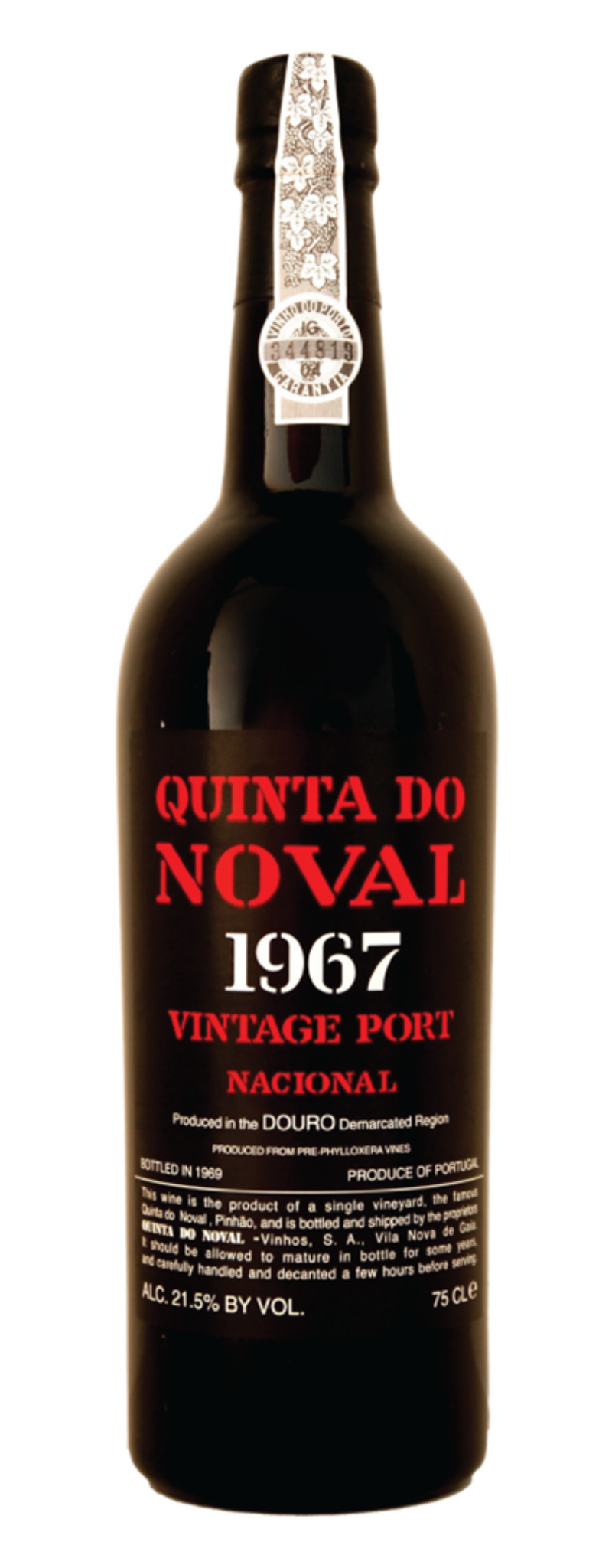 Quinta Do Noval, Nacional 1967, Single Quinta Nacional Vintage Port  - 750ml