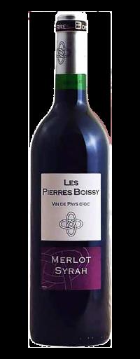 Les Pierres Boissy, Syrah Merlot, IGP d'Oc  - 750ml