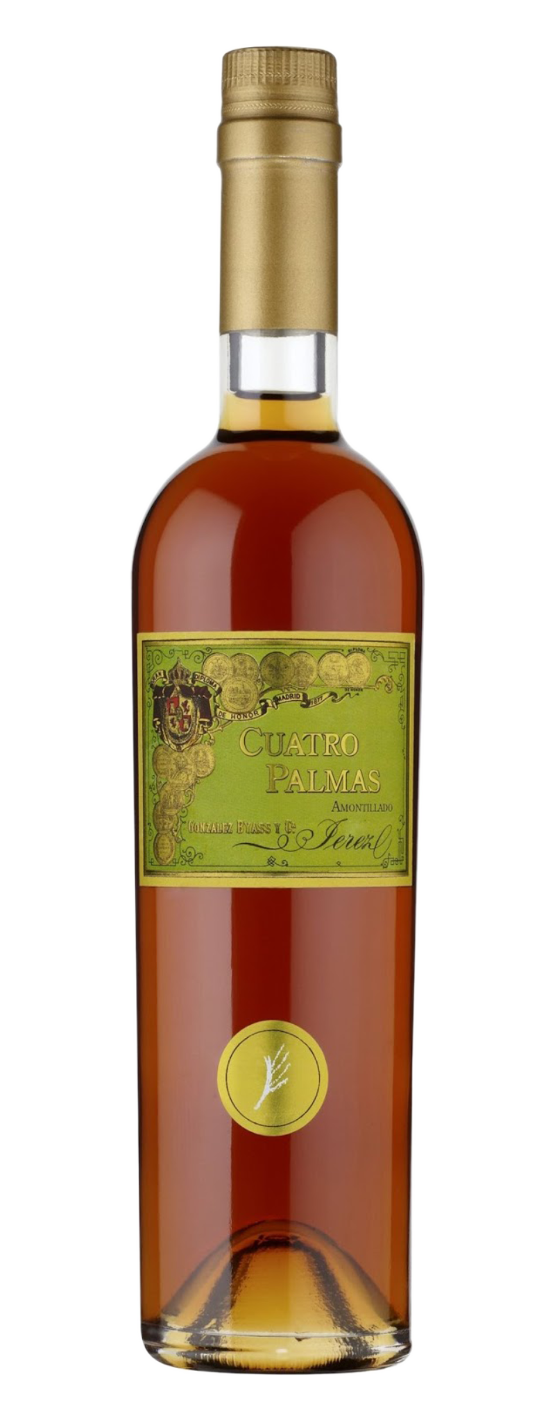 Gonzalez Byass, Fino, Cuatro Palmas, 48 years, Jerez DO  - 750ml