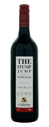 D'Arenberg, The Stump Jump Shiraz, McLaren Vale  - 750ml