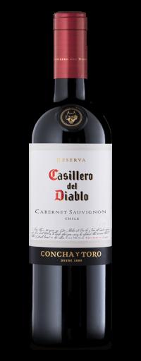 Concha Y Toro, Casillero Del Diablo Reserva Cabernet Sauvignon, Central Valley  - 750ml