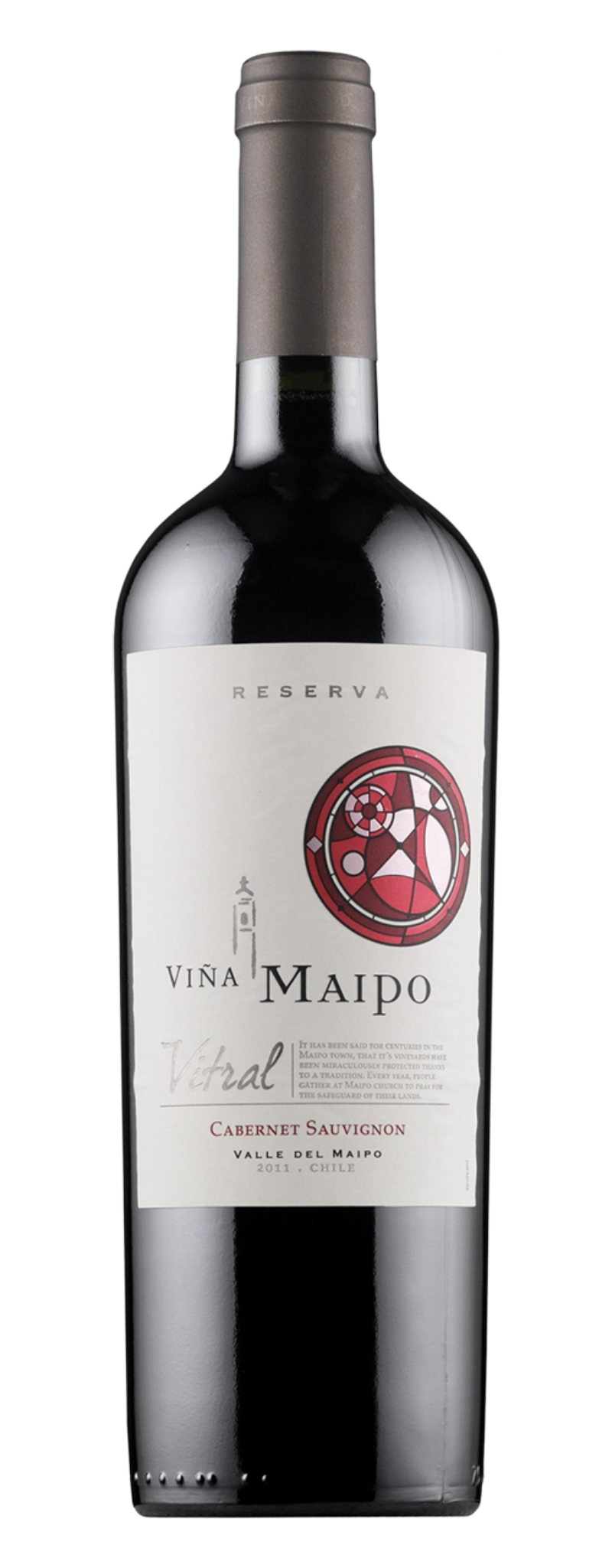 Vina Maipo, Vitral Reserva Cabernet Sauvignon, Central Valley  - 750ml