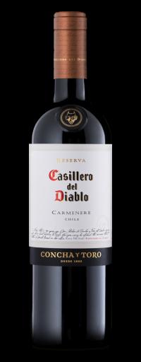 Concha Y Toro, Casillero Del Diablo Reserva Carmenere, Rapel Valley  - 750ml