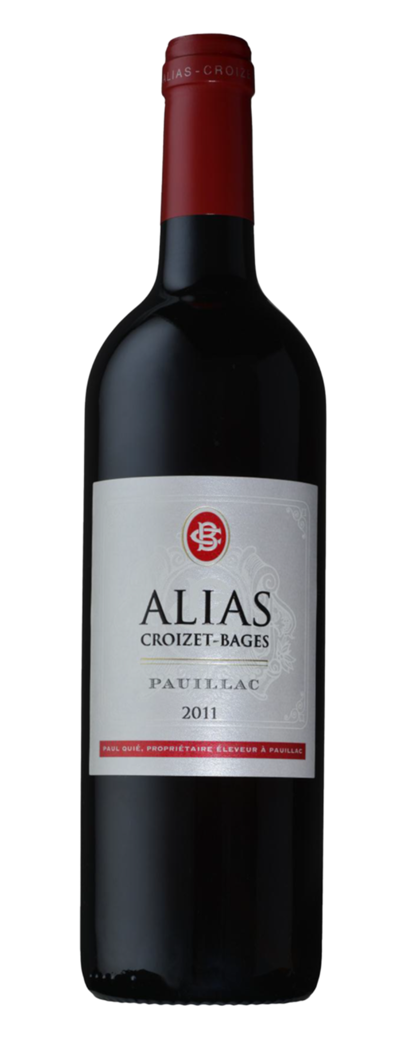 Alias Croizet Bages 2011, Pauillac 5th Grand Cru Classe  - 750ml