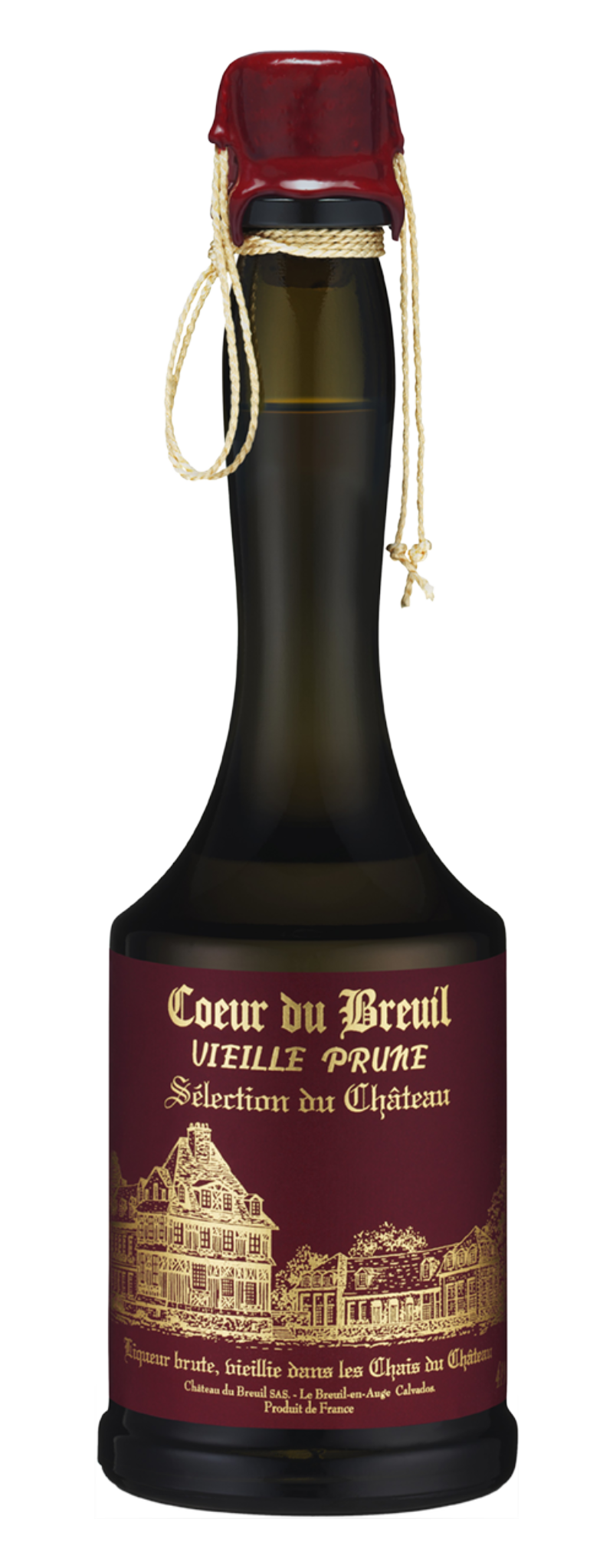 Coeur du Breuil, VIEILLE PRUNE Selection du Chateau  - 2L